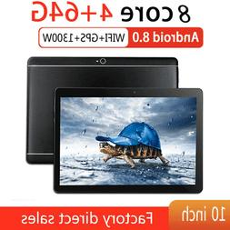 10.1 Android 8.1 Tablet PC Octa Core 64GB WIFI 2 SIM 4G Phab