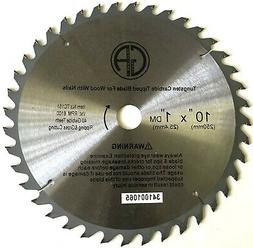 """10"""" Inch 40T Circular Saw Blade for WOOD with Nails  TC151N"""