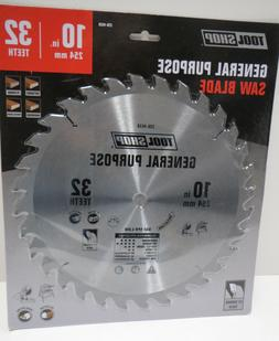 10 inch C2 Carbide tipped 32T Circular Saw Cross/ rip Blade;
