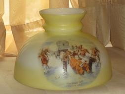 10 Inch fitter Frederic Remington Cowboy Horses Glass Studen