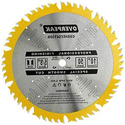 10-Inch Table Circular Saw Blade 50 Tooth ATB Fine Finish 5/