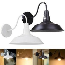 """10"""" inch Vintage Idustrial Retro Style Barn Wall Lamp Sconce"""
