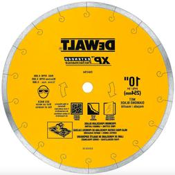 DEWALT 10 inch Wet Diamond Circular Saw Cutter Blade Tile Po