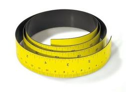 10 PACK - Magnetic Ruler / Measuring Tape 36' Inches / 100 c