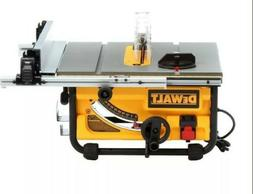 DEWALT 15 Amp 10-inch Compact Job Site Table Saw