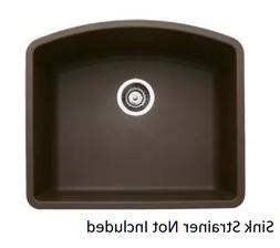 Blanco 440172 24 Inch Undermount Single Bowl Sink in Cafe Br