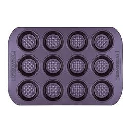 Farberware 47141 Colorvive Bakeware Nonstick Muffin Pan, Pur