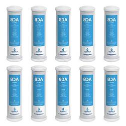 10pk 5 Micron Carbon Block CTO Water Filter Replacement For