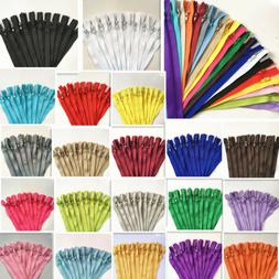 5-20pcs 10Inch  Nylon Coil Zipper Bulk for Sewing Craft 20 c