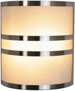 AF Lighting 617605 Contemporary Wall Sconce Brushed Nickel