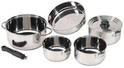 Stansport Premium Quality Stainless Steel 7 piece Deluxe Fam