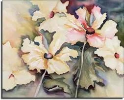 A New Day by Phyllis Neufeld - Flowers Floral Ceramic Accent