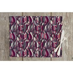 abstract grunge table mat placemat
