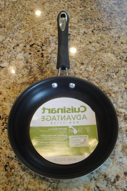 "CUISINART Advantage Non-Stick 8"" Skillet / Frying Pan Turq"