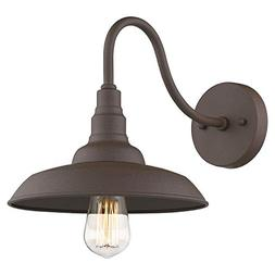 Emliviar Outdoor Barn Light Farmhouse Gooseneck Light Wall S