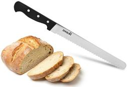 ikasu 10 inch Bread Slicer Knife | Ultra-Sharp German High C