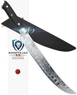 "DALSTRONG Butcher's Breaking Cimitar Knife - 10"" - Shogun Se"