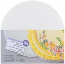 Cake Circles 10 In 12 Pack Bottom Layer Round White Corrugat