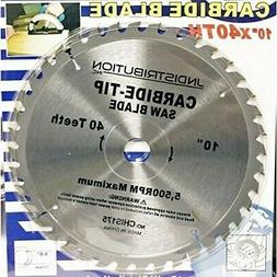 Carbide Circular Saw Blade 40 Teeth Replacement 10 Inch Saw