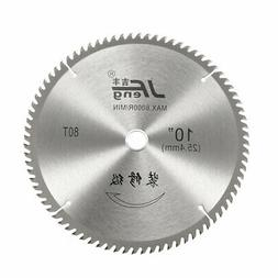 Circular Saw Blades 10 Inch 80 Tooth TCT Hard and Soft Wood