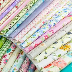 flic-flac Natural Cotton Thick Craft Printed Fabric High Den