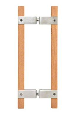"""CRL Brushed Stainless 10"""" BM Series Sauna Back-to-Back Pull"""