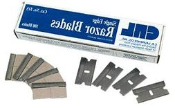CRL Single Edge Razor Blades Pack of 100 by CR Laurence