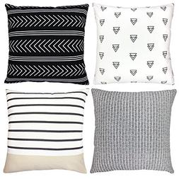 Decorative Throw Pillow Covers For Couch, Sofa, or Bed Set O