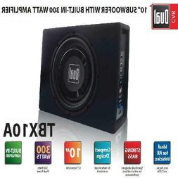 Dual Electronics TBX10A 10 inch Shallow High Performance Pow
