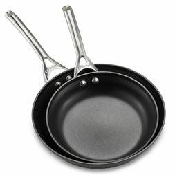 Calphalon Fry Pan Set Contemporary Nonstick 10-Inch and 12-I