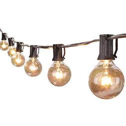 Brightown 50Foot G40 Globe Outdoor Patio String Lights UL Li