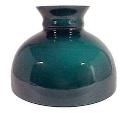 Green Cased Glass 10 inch Student Lamp Shade Desk Table Hang