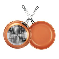 healthy non stick ceramic copper frying pan