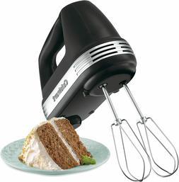 Cuisinart HM-50BK Power Advantage 5-Speed Hand Mixer in Blac