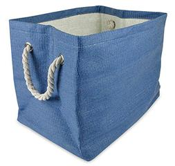 DII Home Essentials Woven Paper Weave, Collapsible, Convenie