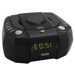 Jensen JCR-310 Dual Alarm Clock Am-fm Stereo Radio With Top-