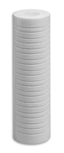 "4 pk 10""x2.5"" 1 Micron Grooved Sediment Melt Blown Filters C"