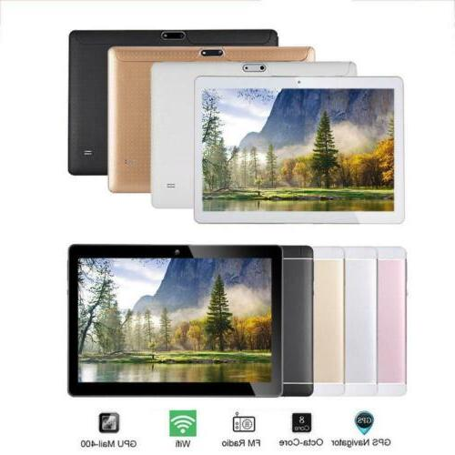 10.1'' Tablet PC Octa 10 Inch 2 4G Phablet US