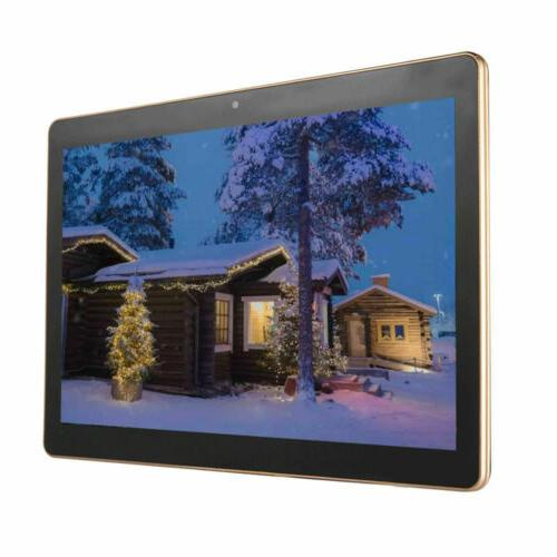 10.1'' 64GB Tablet 10 Inch HD 2 4G Phablet US