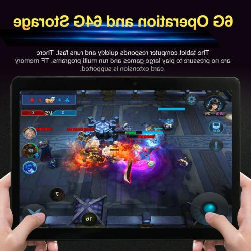 10 inch Android Tablet Android Go 8.0 PC with Card Slot Camera