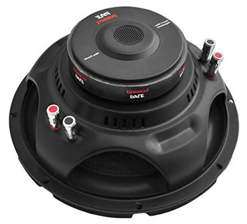 10 inch Car Subwoofer Speaker 4 Ohm Enclosure Box Bass