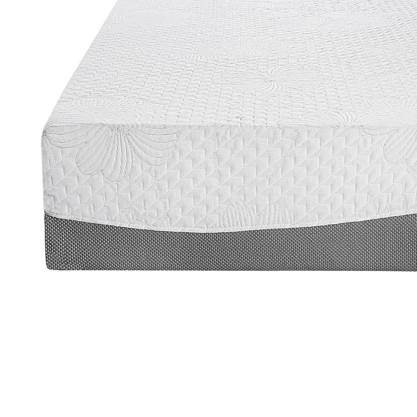 SLEEPLACE 10 GEL Memory , Bed, Grey