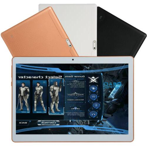 10 Inch Tablet PC Ten Core Android 8.0 GPS 3G Wifi
