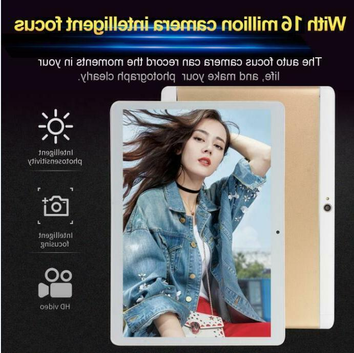 10 Inch Android Tablet PC 48GB SIM