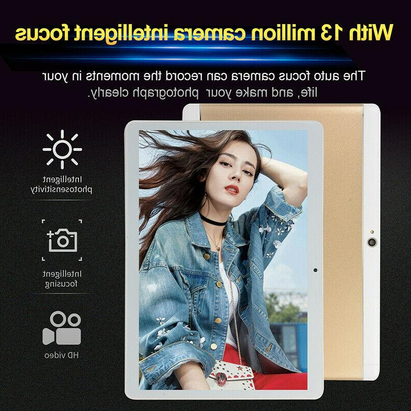 """10"""" Inch PC Android 8.1 64G Octa-Core Google WIFI Dual Camera GPS"""