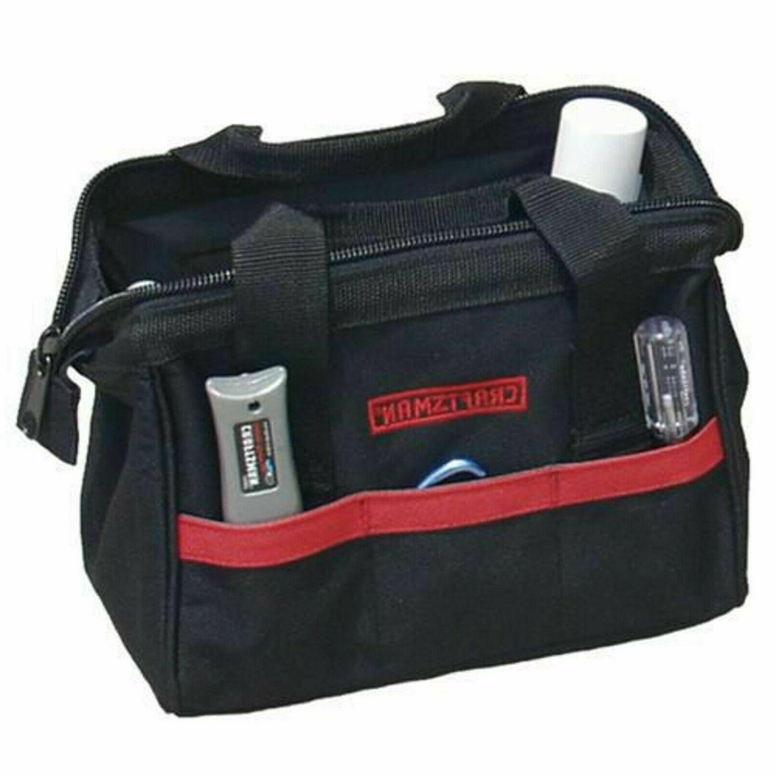 "Craftsman 10"" inch Tool Bag Storage Carriers Tools Water Resistant"