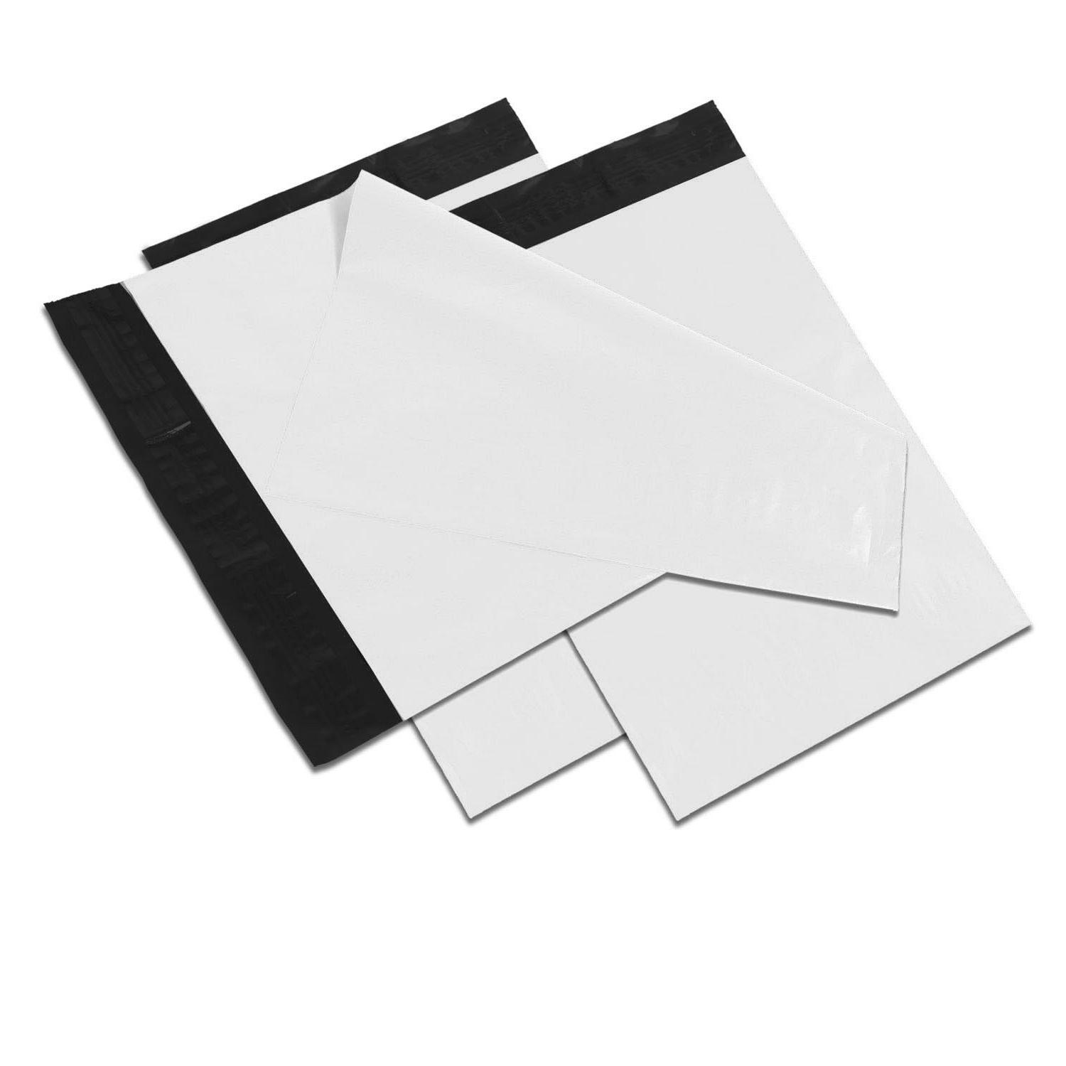 10x13 white poly mailers shipping envelopes self