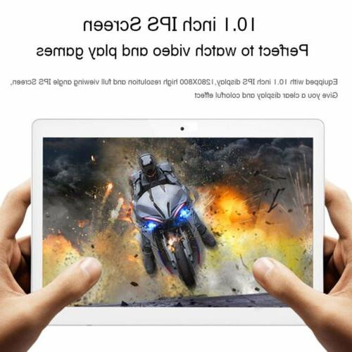 16GB WIFI Phone Phablet 10.1'' Tablet 6.0 Octa Core