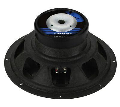 "2) AUDIO 10"" Car Subs+2600W Channel"