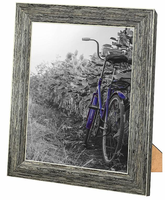 2-Pack, 8x10 Rustic Picture with Easel